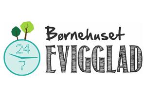 Børnehuset Evigglad logo